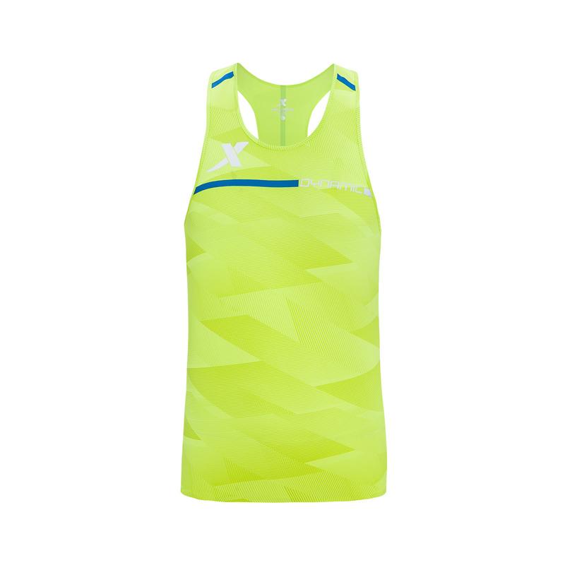 特步 专柜款 男子背心 新品马拉松跑步服透气轻薄专业运动服无袖T恤981129090099