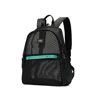 特步 男女通用都市活力可折叠网面双肩包背包881237119027