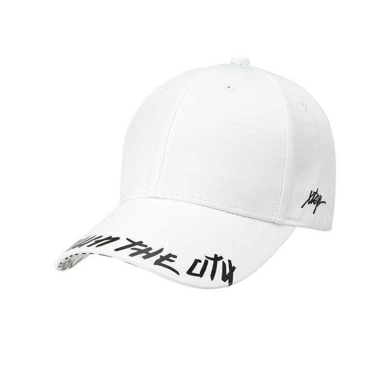 特步 男女通用休闲时尚运动帽遮阳帽881337219010