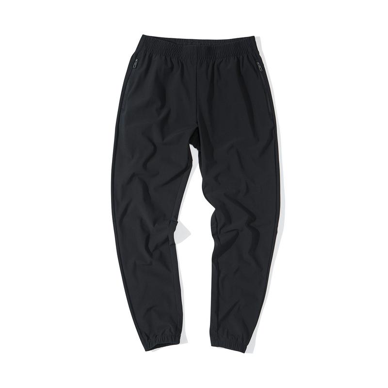 特步 女子针织九分裤 19新款休闲运动拉链长裤881328A29391