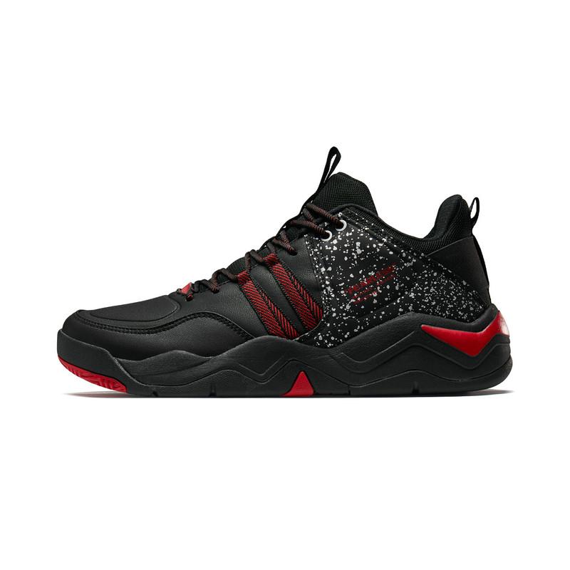 特步 专柜款 男子篮球鞋 2019秋季新品轻便透气男运动鞋高帮球鞋981319121228