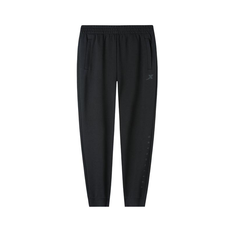 特步 专柜款 男子针织长裤 2019秋季休闲针织运动长裤 981329630247