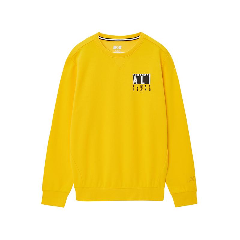 【阿里系列】特步 专柜款 男子秋季新款套头圆领卫衣阿里联名款981329920097