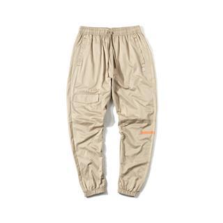 【这就是街舞】特步 男子梭织单裤 时尚潮流口袋工装裤881329499365
