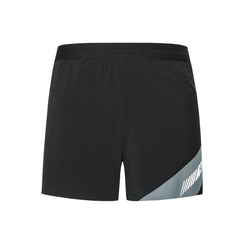 特步 专柜款  男子秋季新款马拉松运动梭织短裤981329240209
