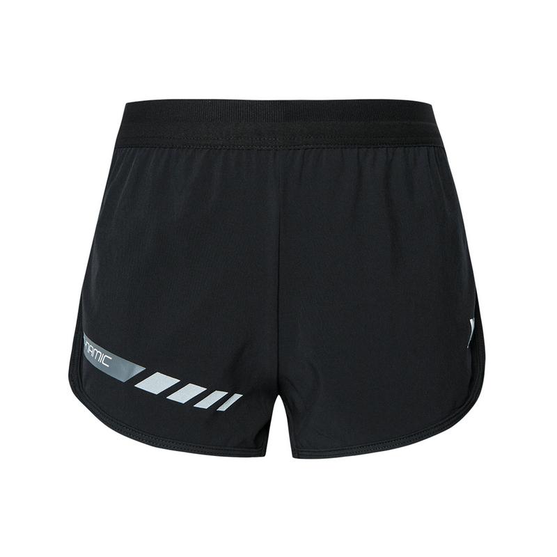 特步 专柜款 女子短裤 2019年秋季新款梭织运动短裤981328240176