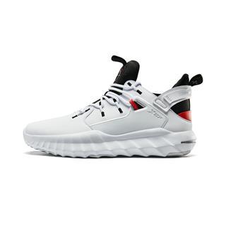 特步 男子篮球鞋 革面中高帮运动鞋881419129517