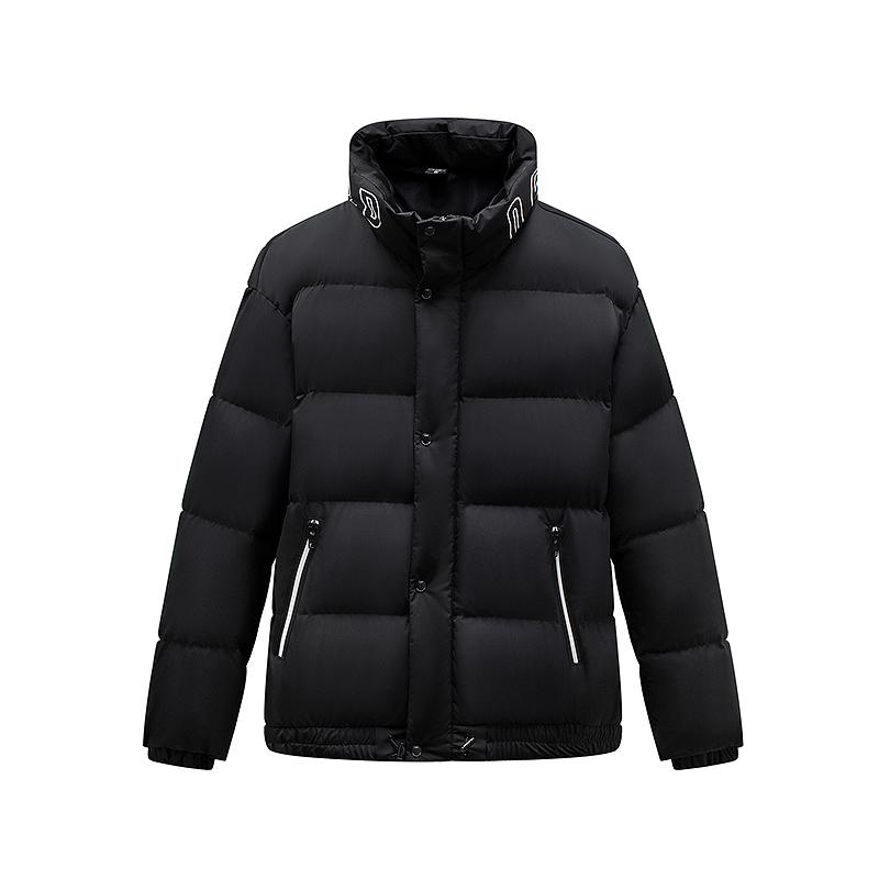 特步 男子羽绒服 2019冬季新款保暖舒适穿搭白羽绒拉链羽绒服881429199222