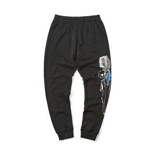 特步 专柜款 男子针织长裤 街头系列针织长裤981329630446