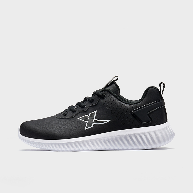 特步 男子休闲鞋 19新款简约革面运动鞋881419329718