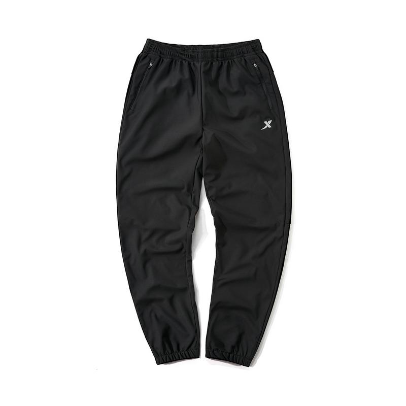 特步 专柜款 男子冬季运动跑步舒适透气百搭梭织长裤981429980306