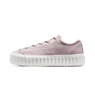 特步 专柜款 女子板鞋 2019年秋季新款休闲时尚板鞋981318316190