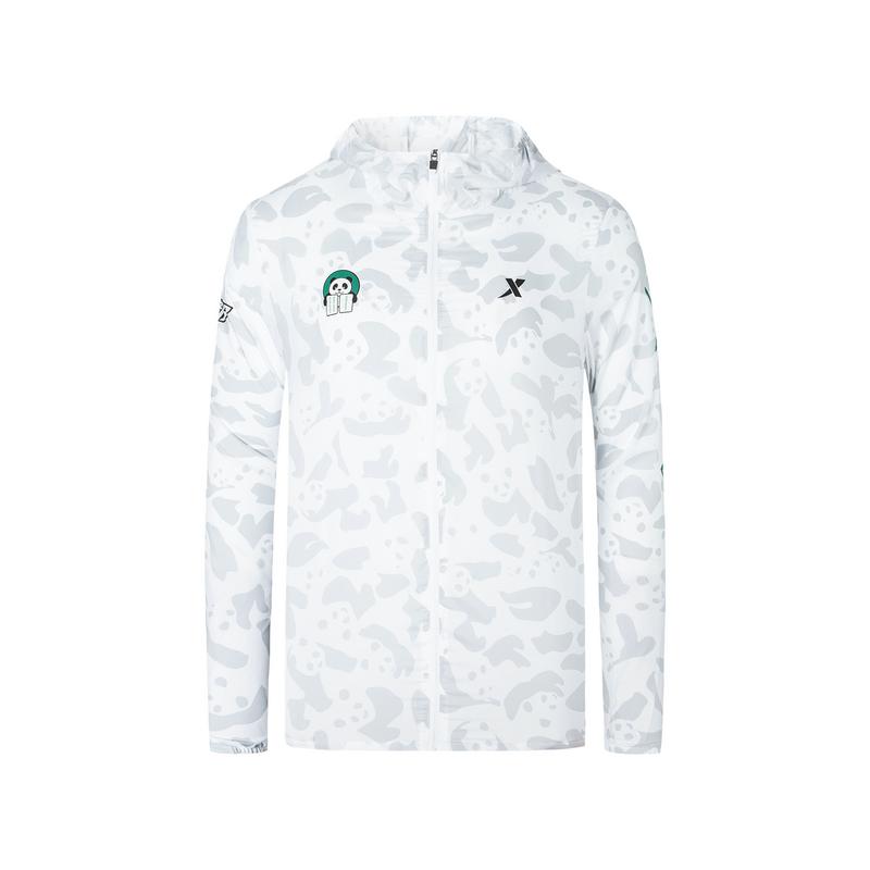 特步 专柜款 男子单风衣 成都马拉松纪念款可折叠外套981329140585