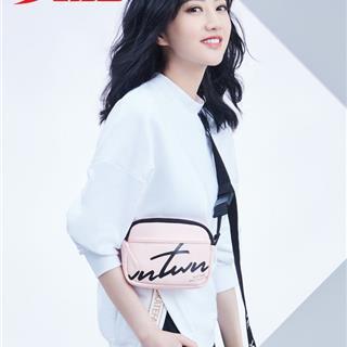 【景甜同款】特步 女子卫衣 时尚小高领纯色保暖套头衫881428059075