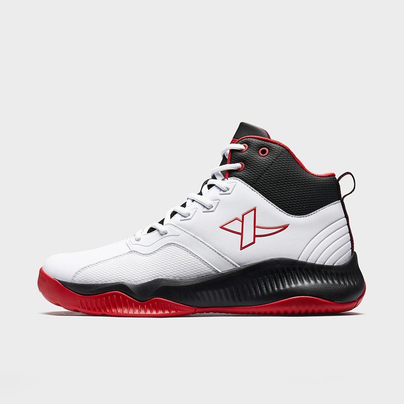 特步 男子篮球鞋 2019冬新款耐磨减震抗冲击运动球鞋881419129681