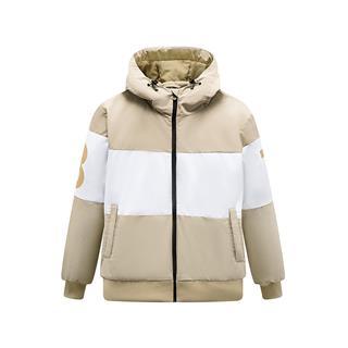 特步 男子棉服 19冬季新款休闲连帽短款保暖外套881429449054