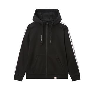 特步 专柜款 女子针织外套 2019冬款加厚保暖针织运动卫衣981428940239