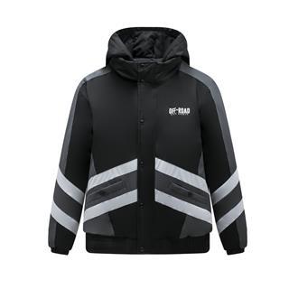 特步 专柜款 男子棉服 保暖休闲男子上衣981429170509