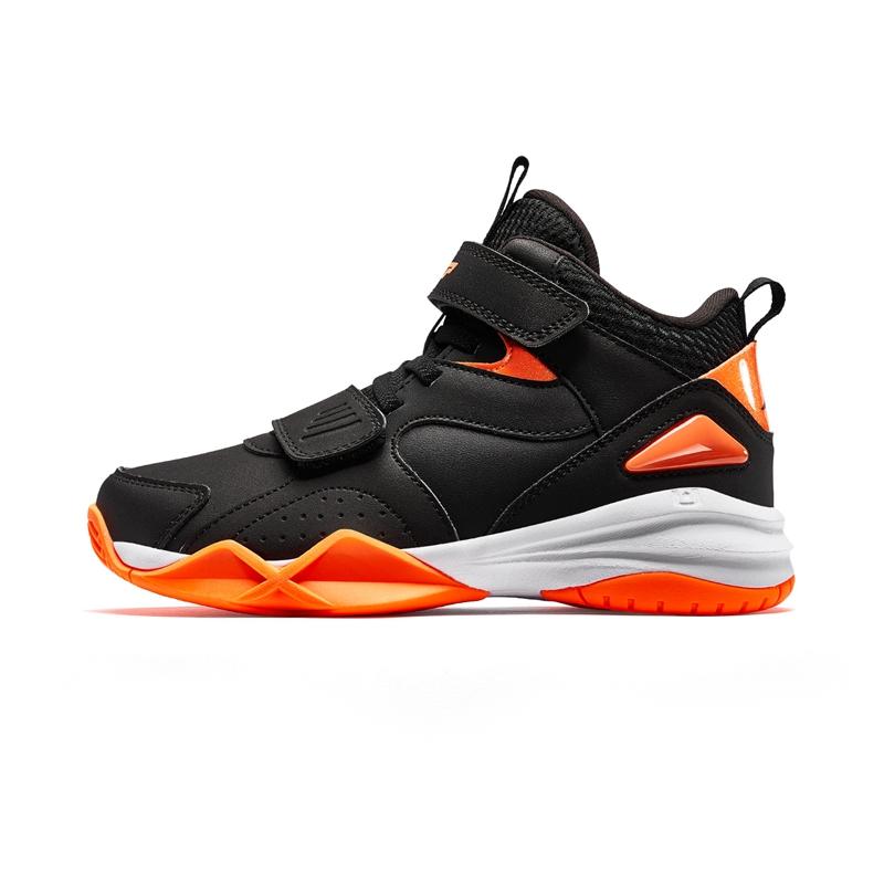 特步 男童冬季篮球鞋 中大童儿童防滑耐磨保暖运动球鞋681415129116
