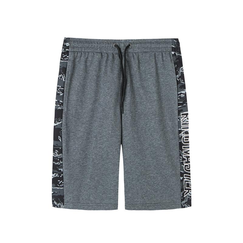 特步 男子针织短裤 19新款街头运动五分裤881329609344