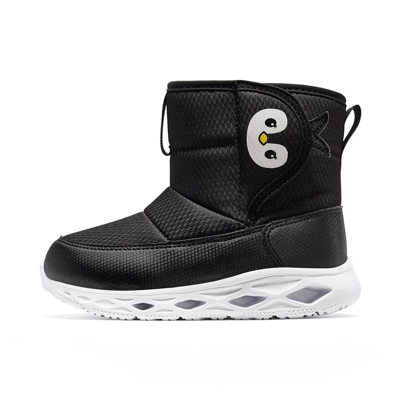 特步 小童棉鞋 2019冬季新款儿童保暖休闲运动棉靴681416519135