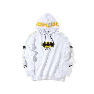 【DC蝙蝠侠联名款】特步 专柜款 男子卫衣 连帽套头衫981429930495