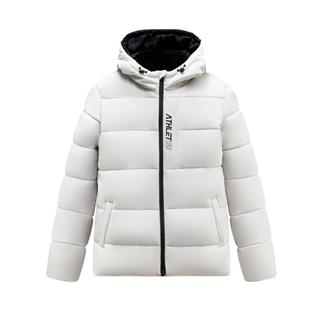 特步 男子棉服 19冬新款保暖加厚连帽运动外套881429189253