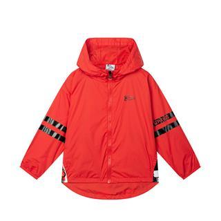 【QE熊】特步 专柜款 儿童风衣 男女童风衣小童QE熊外套可爱萌681325153001