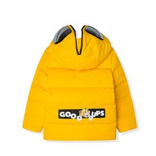特步 【眼镜款】男童冬季新款保暖舒适羽绒服小童外套681425199243