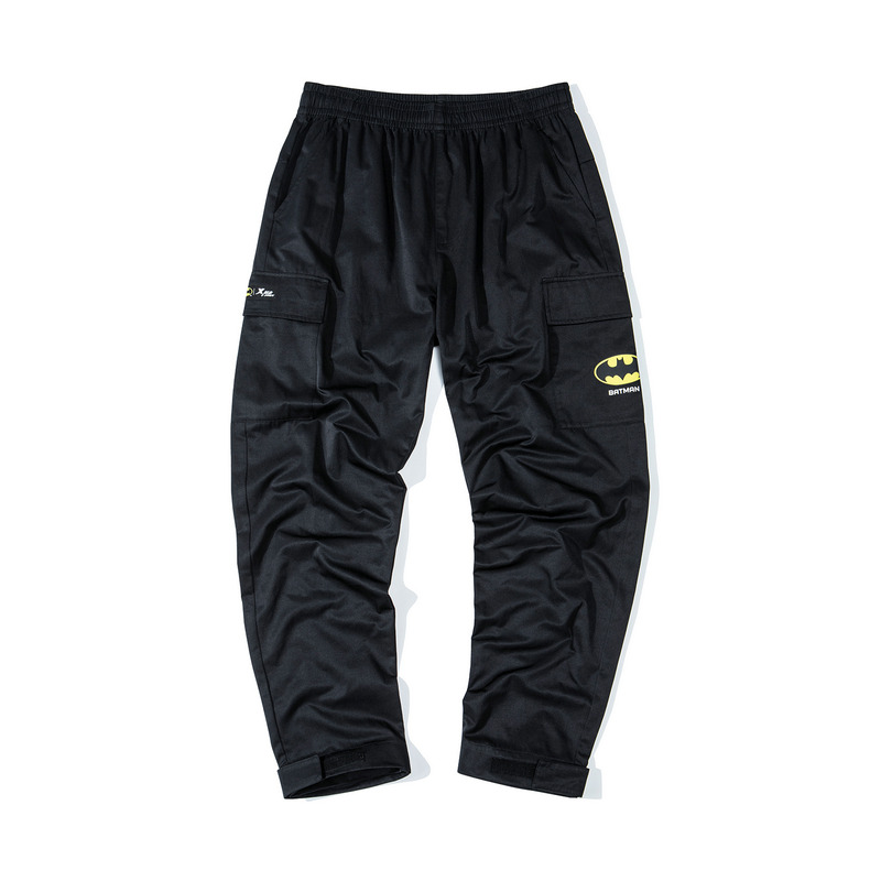 【DC蝙蝠侠联名款】特步 男子长裤 19冬新款休闲口袋工装裤881429569214