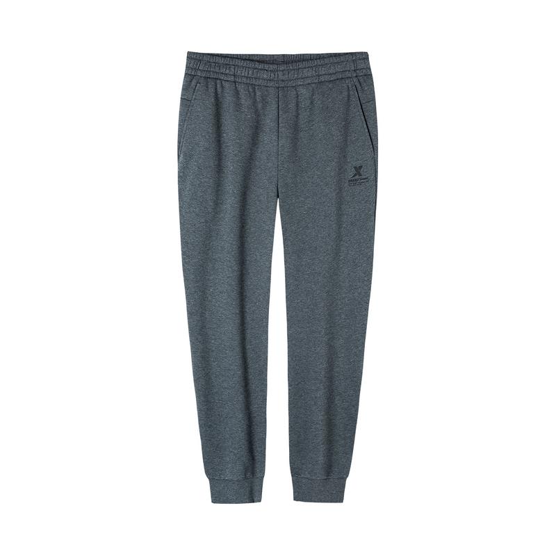 特步 男子针织长裤 19冬新款舒适运动小脚裤881429639256