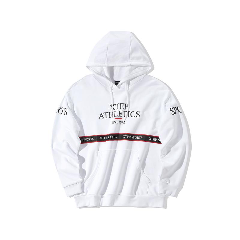 特步 专柜款 女子卫衣 2019冬季新款休闲运动服时尚保暖卫衣981428930403