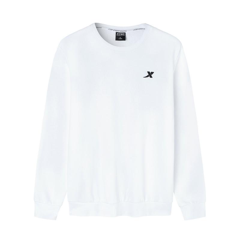 【加绒款】特步 男子卫衣 19新款加绒款保暖套头衫881329059407