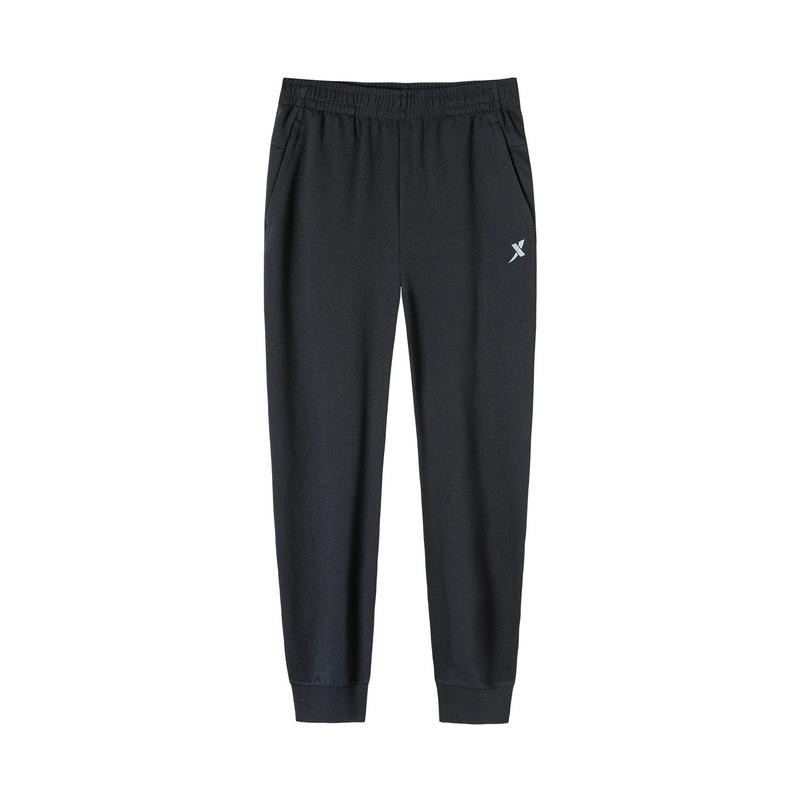 特步 男子针织长裤 19新款基础健身运动长裤881329639406