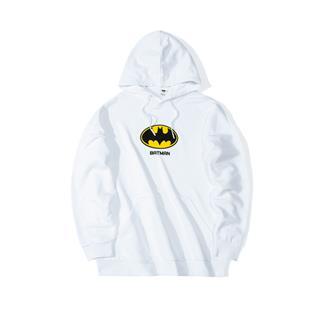 【DC蝙蝠侠联名款】特步 男女款卫衣 情侣款连帽套头衫881427059215