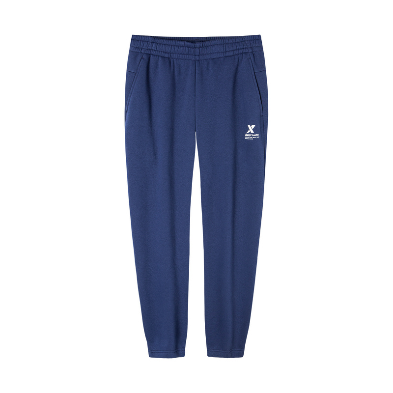 特步 男子针织长裤 19新款运动跑步长裤881429639257