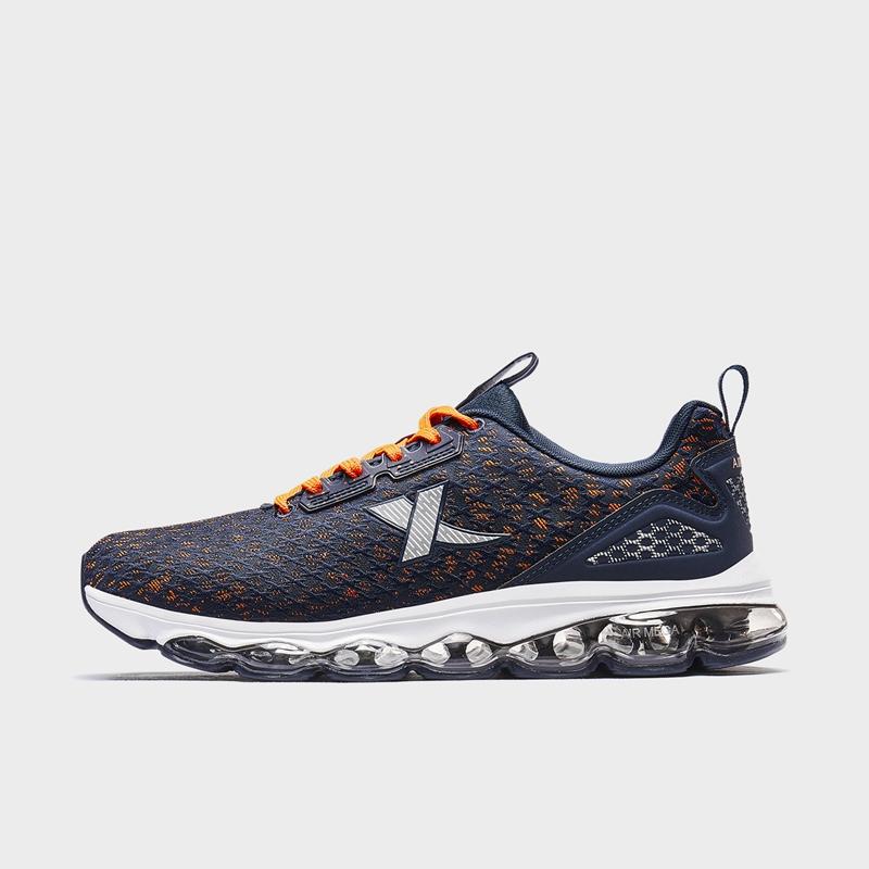特步 男子跑鞋 19冬新款舒适全掌运动气垫鞋881419119810