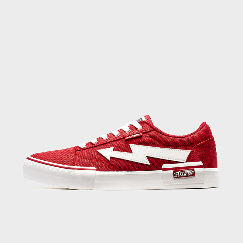 特步 男子帆布鞋 20新款时尚简约帆布鞋休闲鞋880119100018