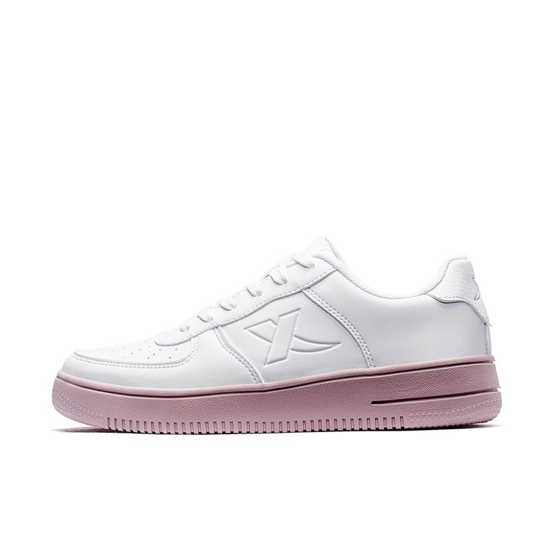 特步 女子板鞋 2020新款厚底情侣休闲鞋彩虹鞋运动滑板鞋880118315135