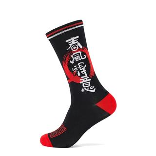 特步 男子高帮袜 20年新款时尚潮流运动长袜880139560036