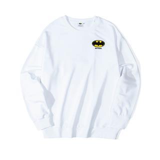 【DC蝙蝠侠联名款】特步 男子卫衣 背后印花套头衫881429059220