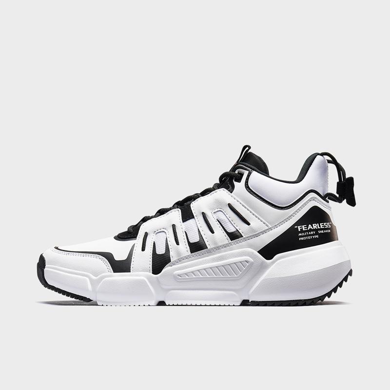 特步 专柜款 男子篮球鞋 2019冬季新款防滑耐磨休闲鞋运动鞋981419121255