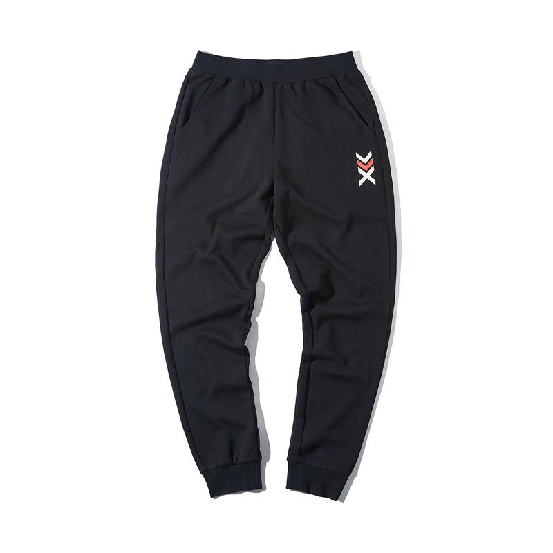 特步 专柜款 男子春季新款都市休闲时尚百搭收口小脚针织长裤880129630057