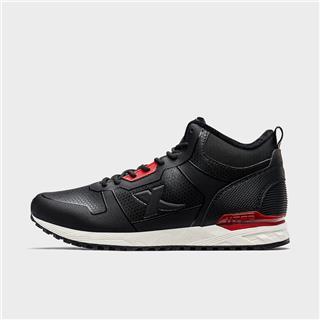 特步 专柜款 男子棉鞋 20加绒加厚保暖休闲鞋时尚高帮棉鞋981419371081