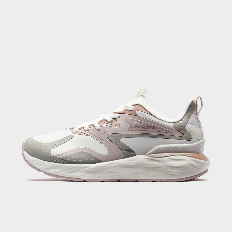 特步 专柜款 女子跑鞋 19新款时尚动力巢运动鞋981418110619