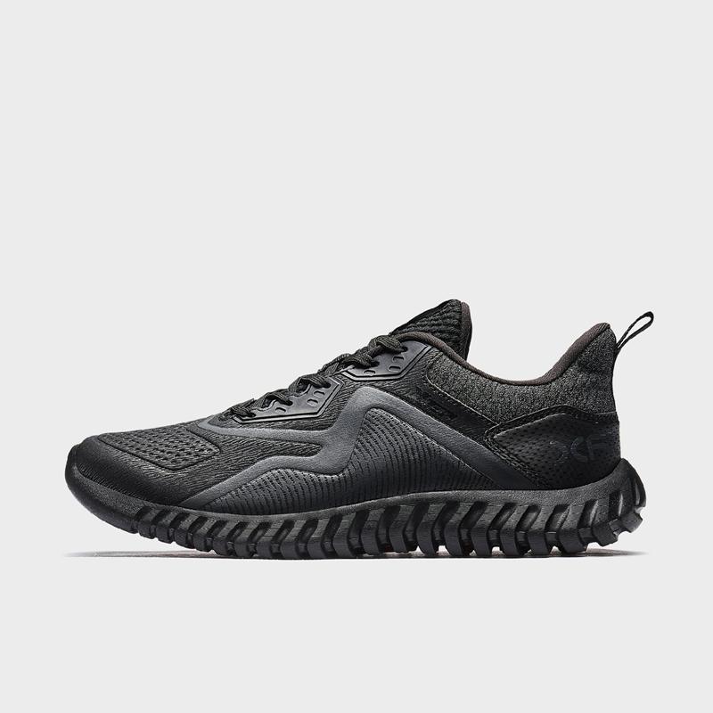 特步 专柜款 男子跑鞋 19新款简约革面运动鞋981419110516