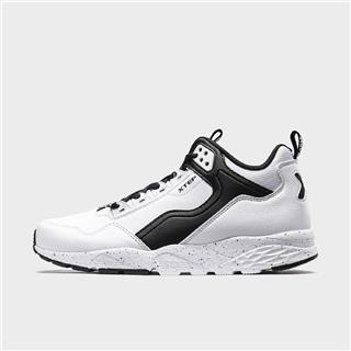 特步 专柜款 男子休闲鞋 简约都市中高帮鞋981419320193