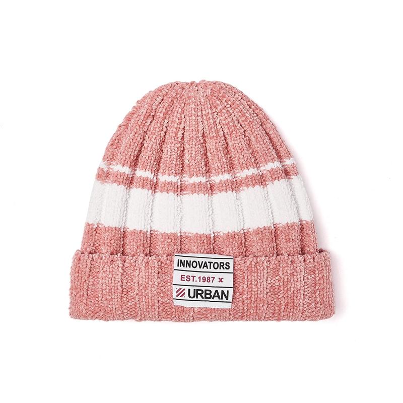 特步 男女针织帽 百搭休闲保暖运动帽881437229032