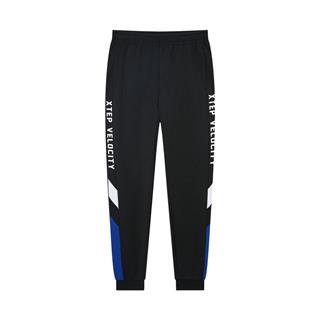 特步 专柜款 男子针织长裤 2020年春季新款活力休闲收口裤980129630032