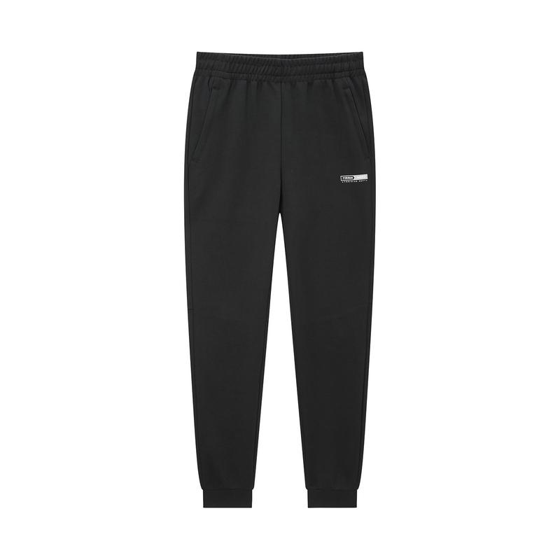 特步 专柜款 男子针织长裤 2020年春季新款运动收口裤980129630107